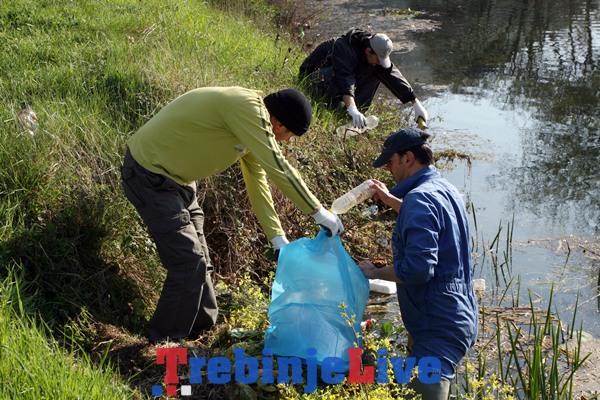 ciscenje trebisnjice povodom svjetskog dana voda