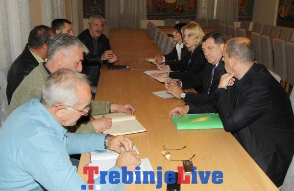 dodik cvijanovic sastanak sa predstavnicima boracke populacije trebinje
