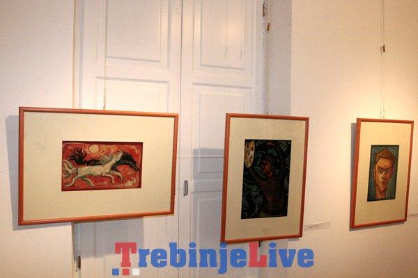 izlozba slika dusana simica u muzeju hercegovine