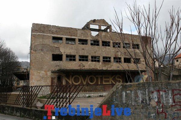 stara zgrada novoteksa trebinje