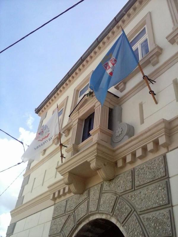 stari grad trebinje zastave