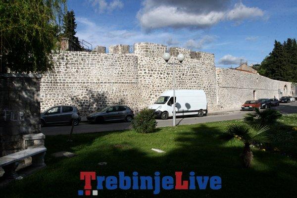 zidine starog grada trebinje rekonstrukcija