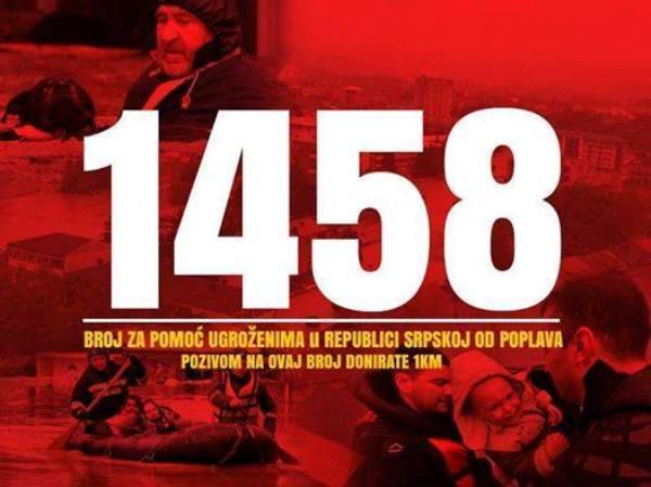 humanitarni broj 1458
