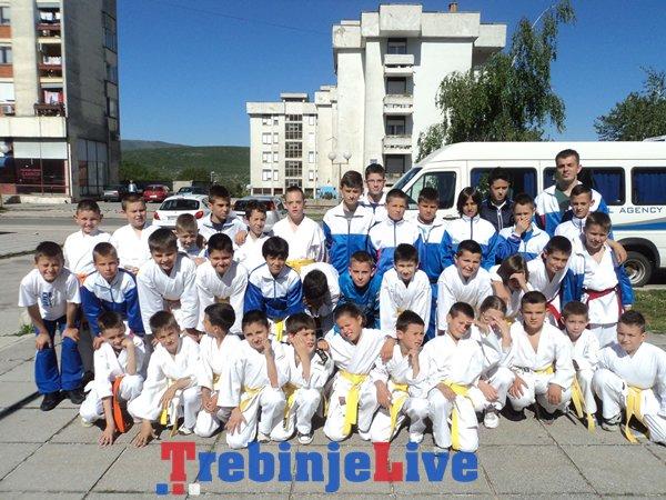 karatisti klub borilackih sportova trebinje prvenstvo bileca