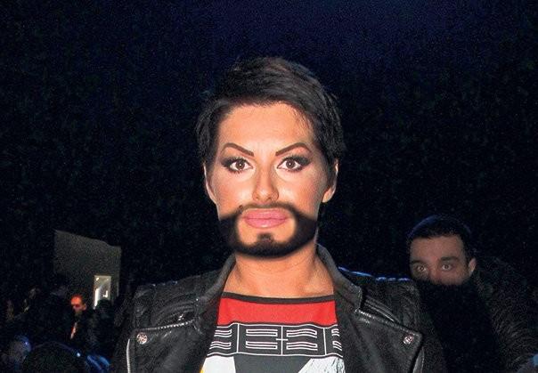 seka aleksic sa bradom
