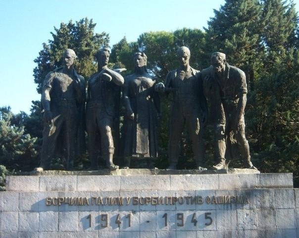spomenik borcima palim protiv fasizma trebinje