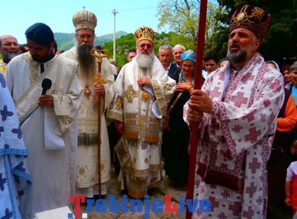 sveta arhijerejska liturgija u krusevicama