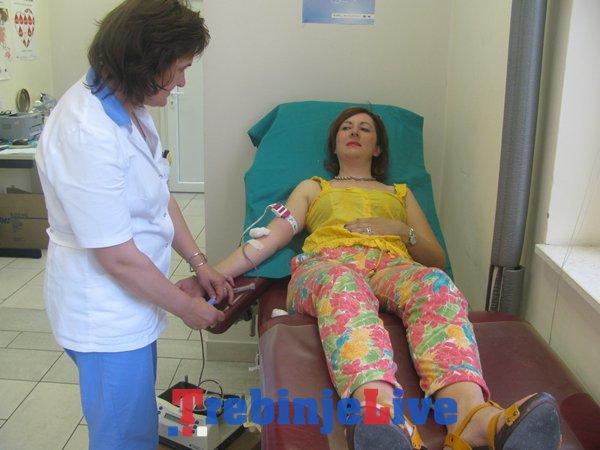 darivanje krvi trebinje