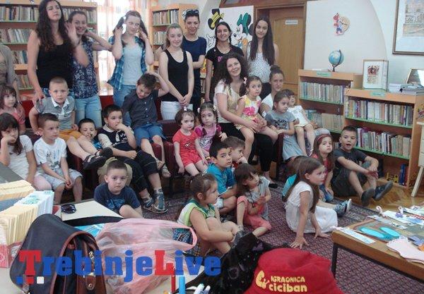 djecija igraonica ciciban edukativna radionica sa srednjoskolcima