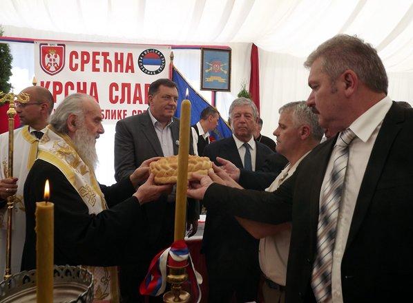 obiljezena krsna slava vojske republike srpske vidovdan manastir dobrun
