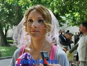 snimanje filma na mlijecnom putu svadba