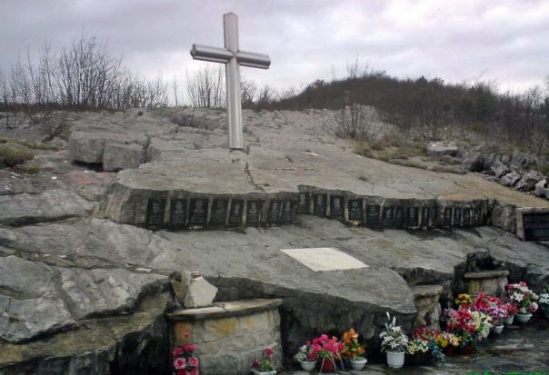 spomenik bobanskim borcima rapti