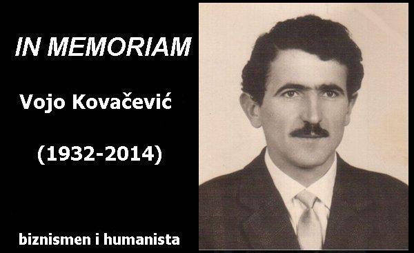 In Memoriam vojo kovacevic