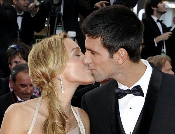 djokovic poljubac