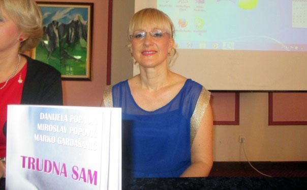 dr Danijela Popadic promocija knjige trudna sam