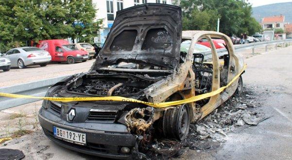 beogradjankama zapaljen automobil u mostaru