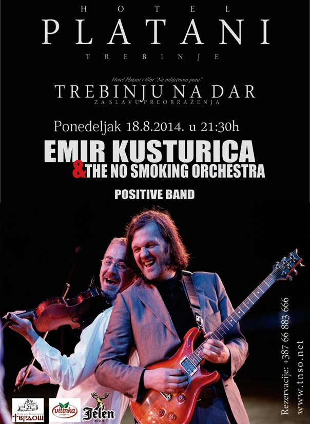 emir kusturica i the no smoking orchestra koncert trebinje
