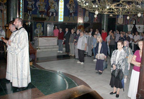 istorijska liturgija vracar za novomucenike prebilovacke