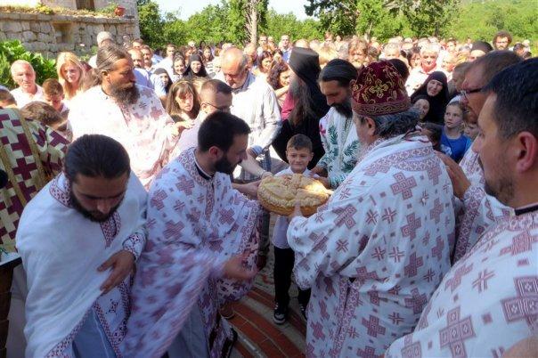 krsna slava manastira tvrdos uspnje presvete bogorodice