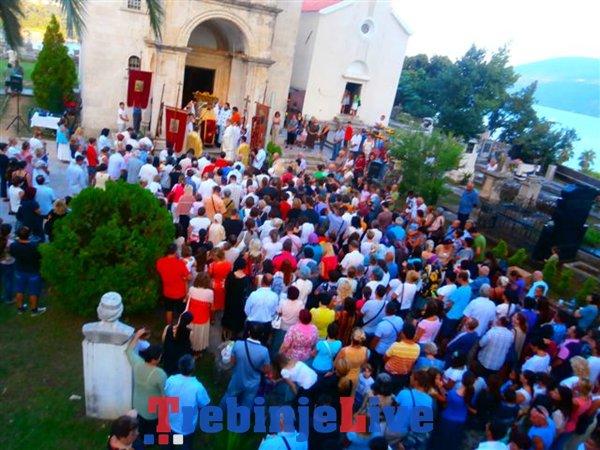 proslava velike gospojine manastir savina