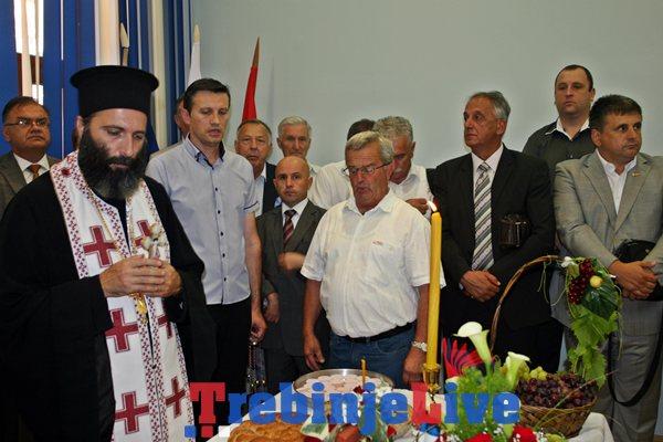 slavski kolac povodom krsne slave svetog preobrazenja gospodnjeg trebinje