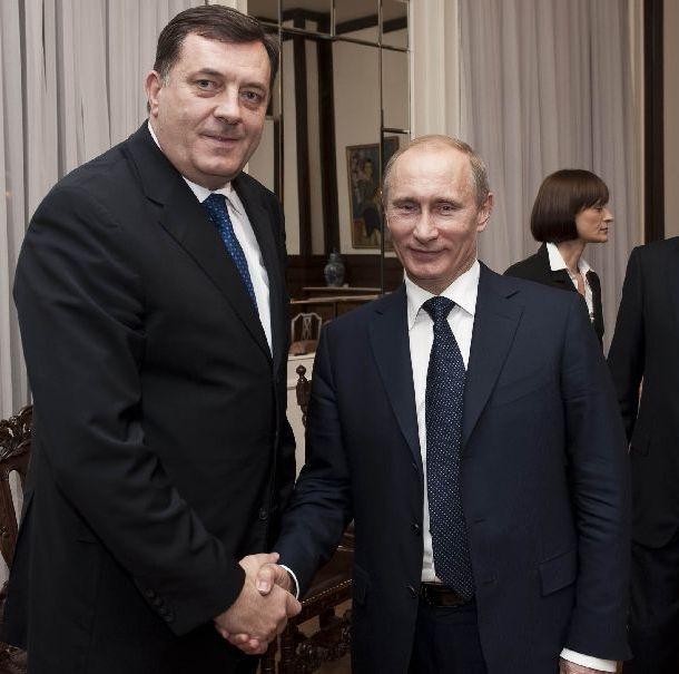 Dodik i Putin