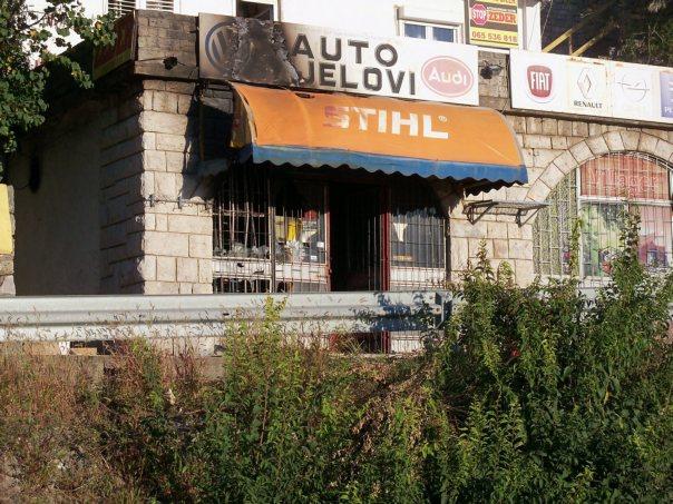 Pozar Hrupjela prodavnica