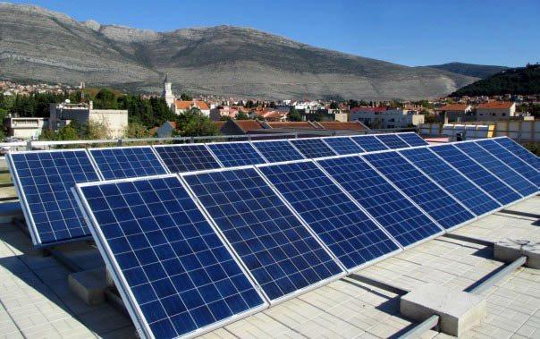 zgrada sa solarnom elektranom trebinje