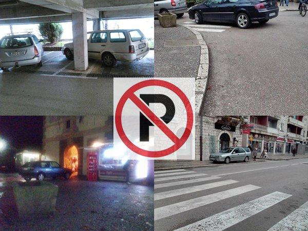 automobili parkiranje trebinje