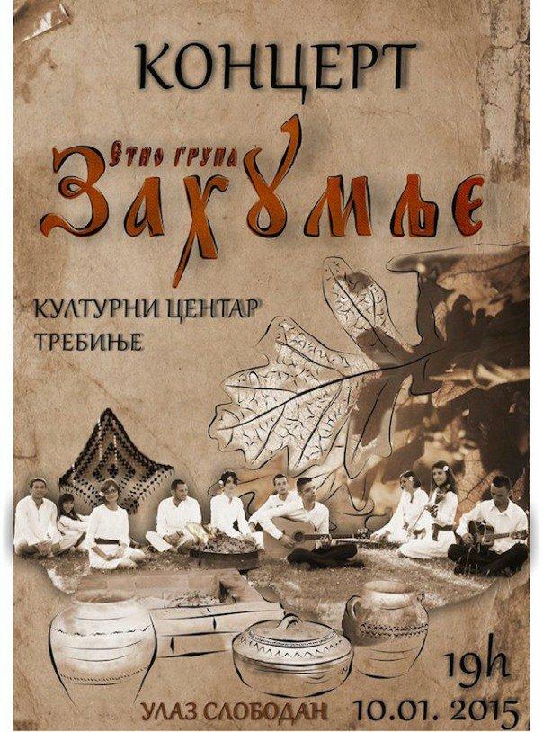 etno grupa zahumlje koncert najava