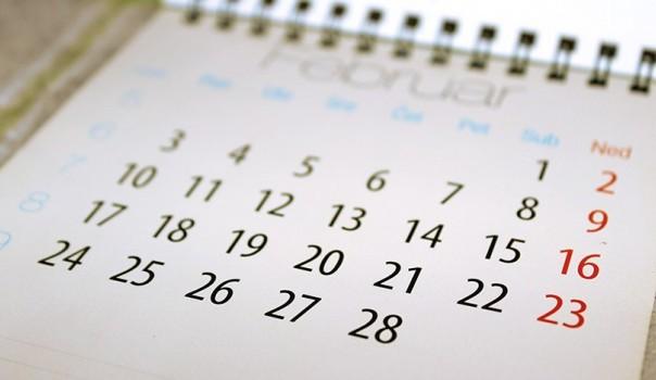 Kalendar Februar
