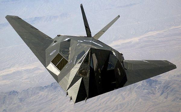 bombarder F117A