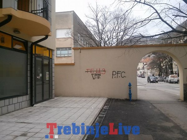 grafiti unistili dubrovacku kapiju