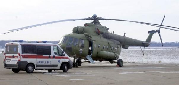 srusio se helikopter beba srbija