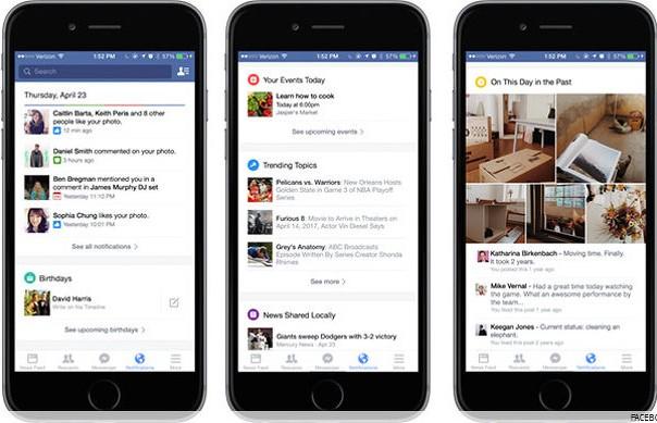 Facebook notifikacije
