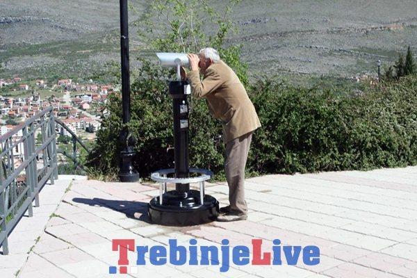 panoramski teleskop trebinje
