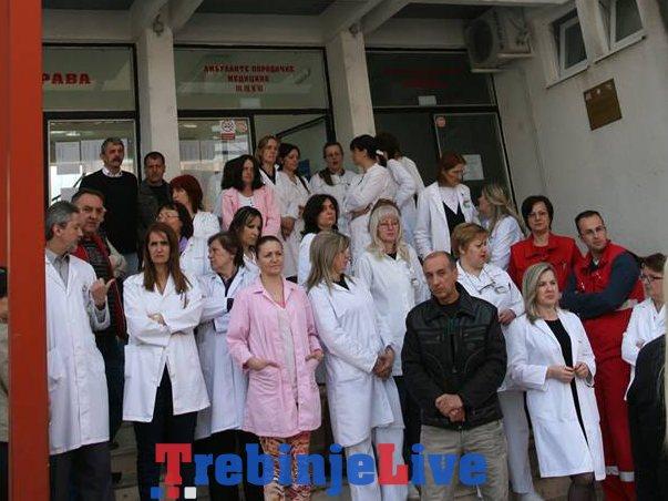 strajk radnika doma zdravlja