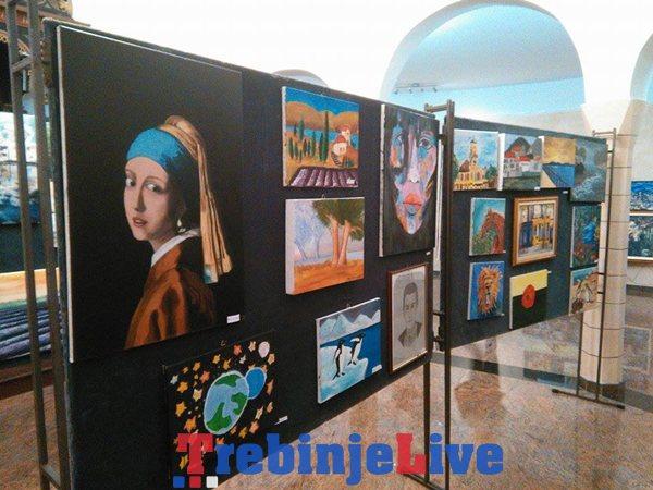 izlozba slika olaznika skole slikanja kembridz trebinje