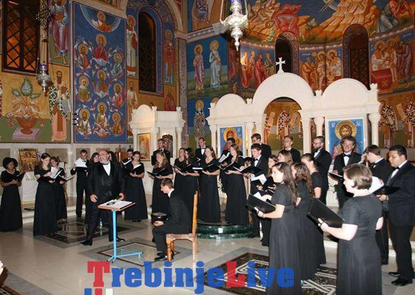 koncert saborni hram trebinje American University Chamber Singers