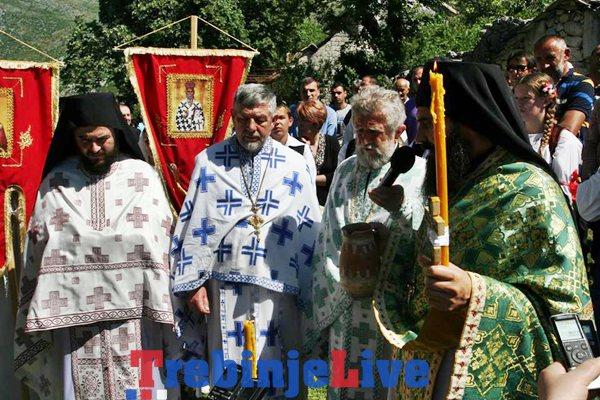 proslava svetog vasilija ostroskog u mrkonjicima