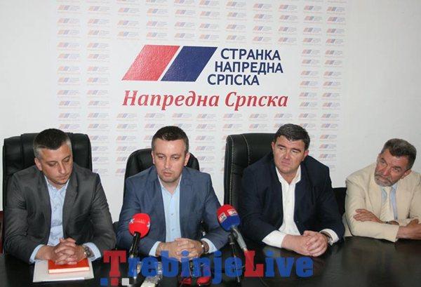stranka napredne srpske sns trebinje