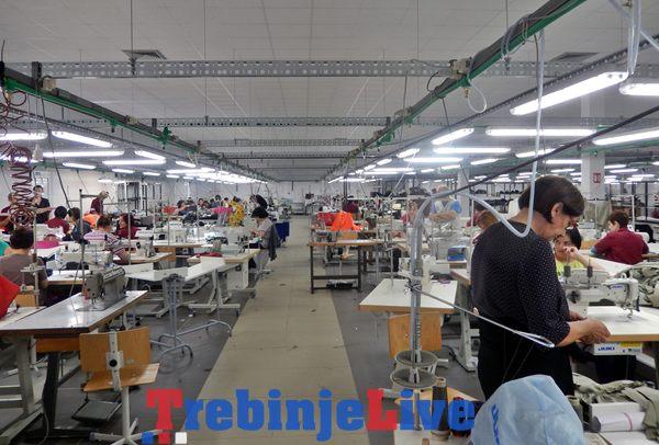 tekstilna industrija nikola tesla bileca proizvodnja