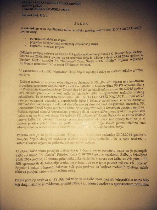 pravna borba fk leotar trebinje