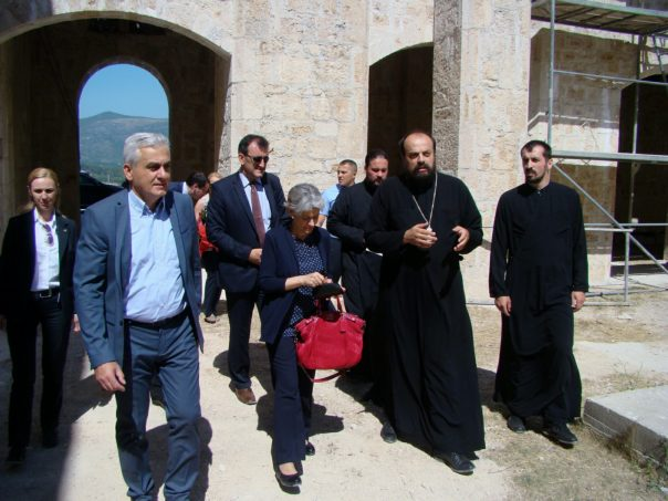 irina bokova unesko saborna crkva svete trojice mostar obnova