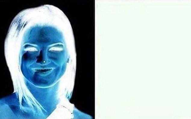 opticka iluzija zena