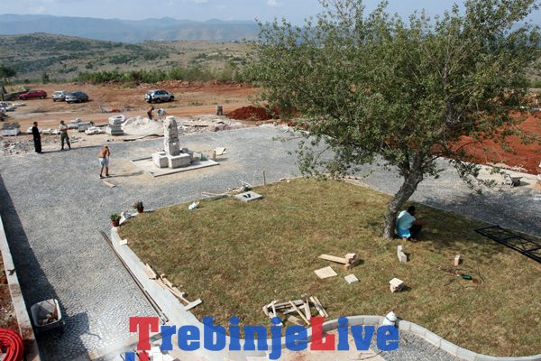 prebilovci izgradnja hrama hristovog vaskrsenja