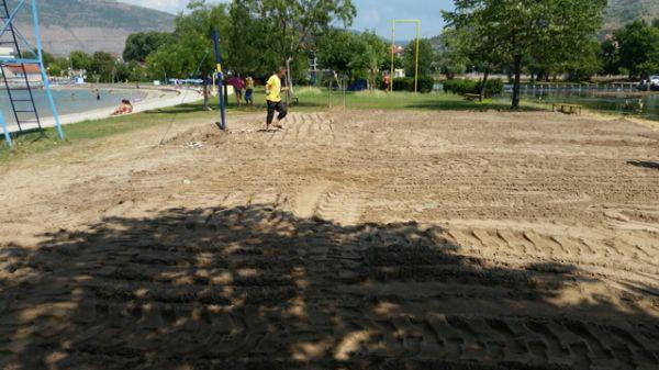 Teren za odbojku na pijesku