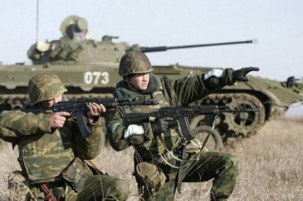 Vojne vjezbe rusija