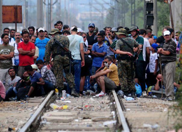 migranti madekonija vojska