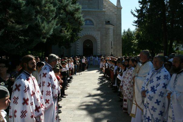 sveta liturgija preobrazenje gospodnje trebinje